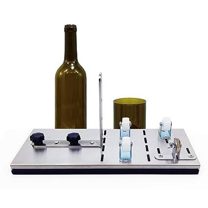 Cortador de botellas de vidrio, máquina de cerveza de vino ...