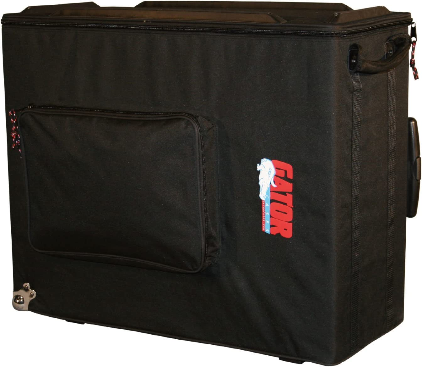 G-112A Gator Cases Lightweight Guitar Amplifier Case with Pull Handle and Wheels; Fits 1x12 Combo Amps