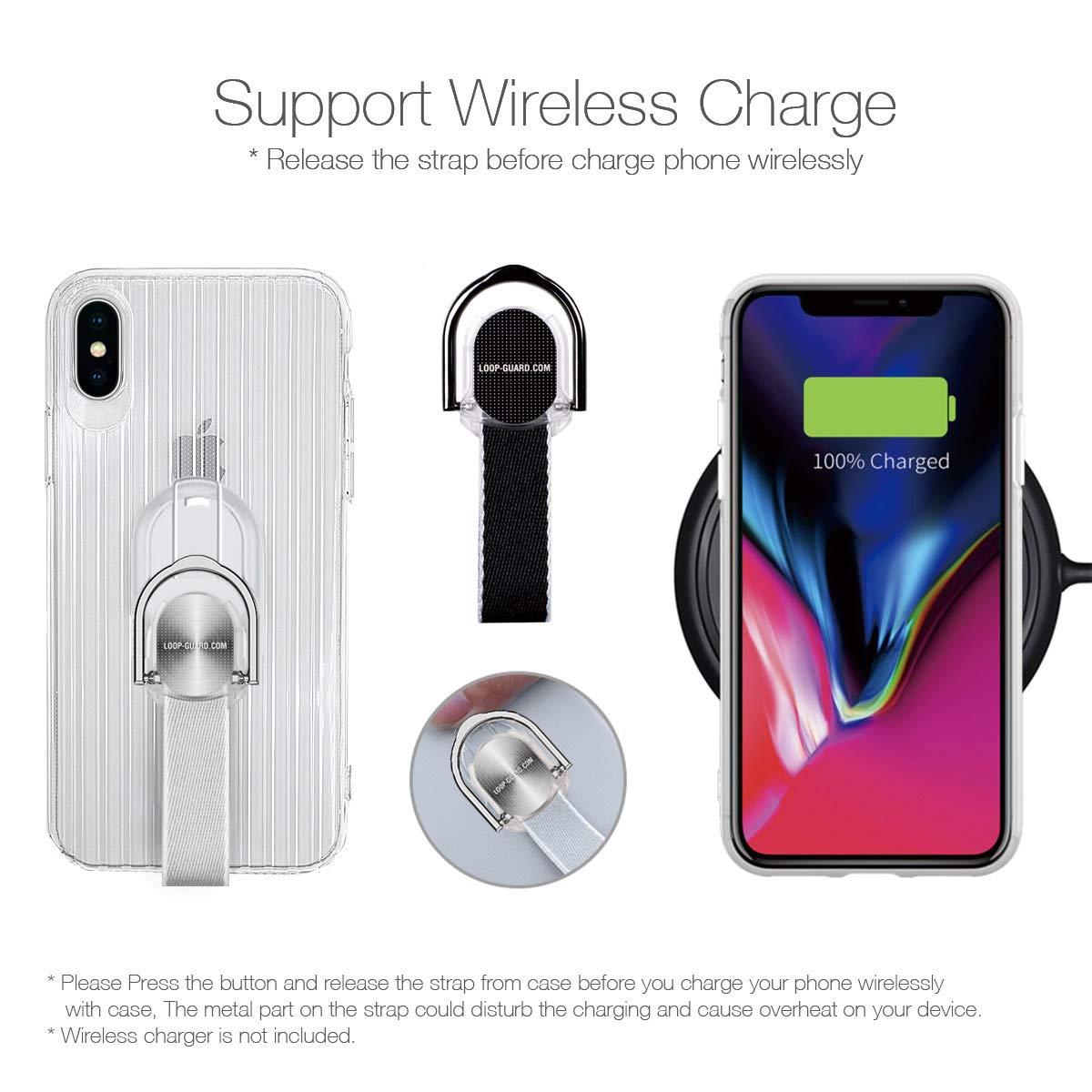 Amazon.com: LAVAVIK - Carcasa para iPhone X/XS (con función ...