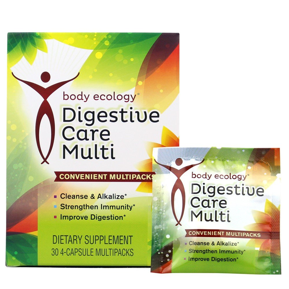 Body Ecology Digestive Care MultiPack, 120 Capsule