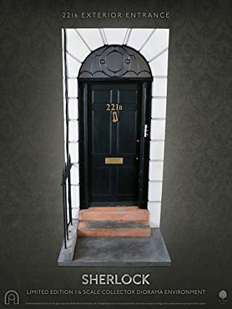 221B Entrance 16 Scale Figure Diorama Door Sherlock BIG CHIEF STUDIOS & 221B Entrance 1:6 Scale Figure Diorama Door Sherlock BIG CHIEF ...