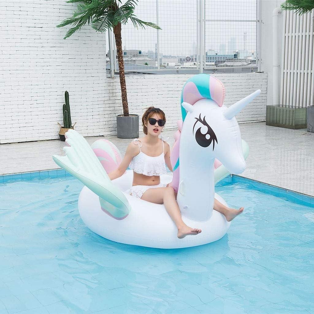 Amazon.com: Unicornio flotador gigante inflable para piscina ...