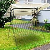 funda de coj/ín para patio al aire libre cubierta de hamaca con respaldo de 104 x 47 x 47 cm azul 134 x 115 x 33 cm Juego de hamaca de repuesto para jard/ín silla oscilante de 2 plazas dDanke