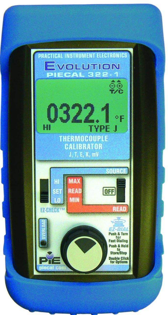 Piecal Pie Model 322-1 Thermocouple Calibrator 3221