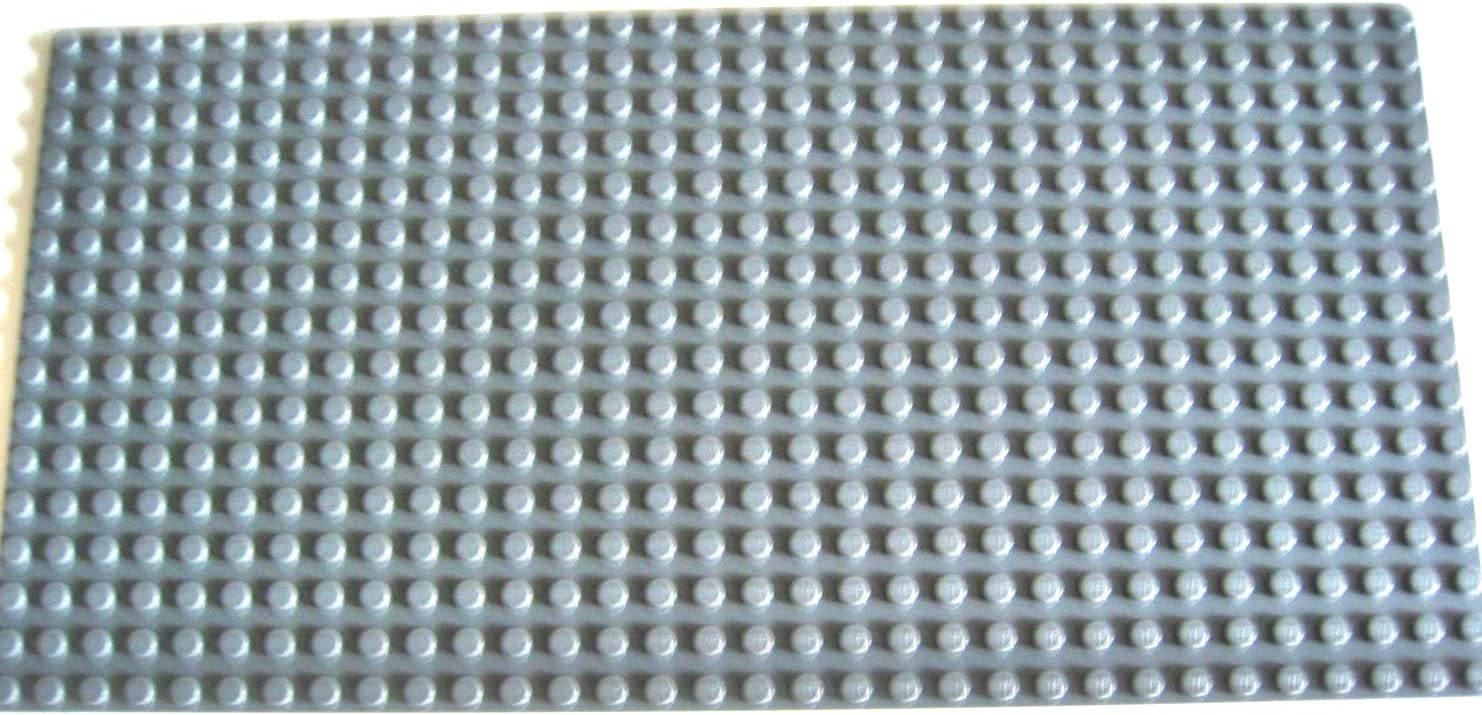 LEGO LOT OF 100 NEW 2 X 2 DARK BLUISH GREY PLATES TOWN CITY BUILDING BLOCKS