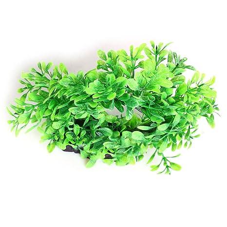 Pengyu Acuario de plantas de simulación viva para acuario, árbol, árbol, pecera,