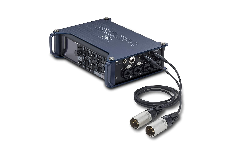 Pair ZOOM TXF-8 TA3 to XLR Cable