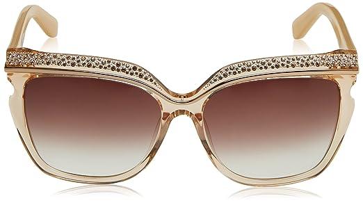 Jimmy Choo Damen Sonnenbrille Sophia/S FM Dln, Beige (Nude Beige/Brown Violet Sf), 58