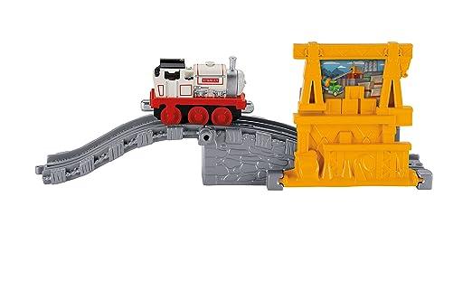 Fisher Price - Thomas y sus amigos Coge y Juega - Stanleys ConstruccióN Choque: Amazon.es: Juguetes y juegos