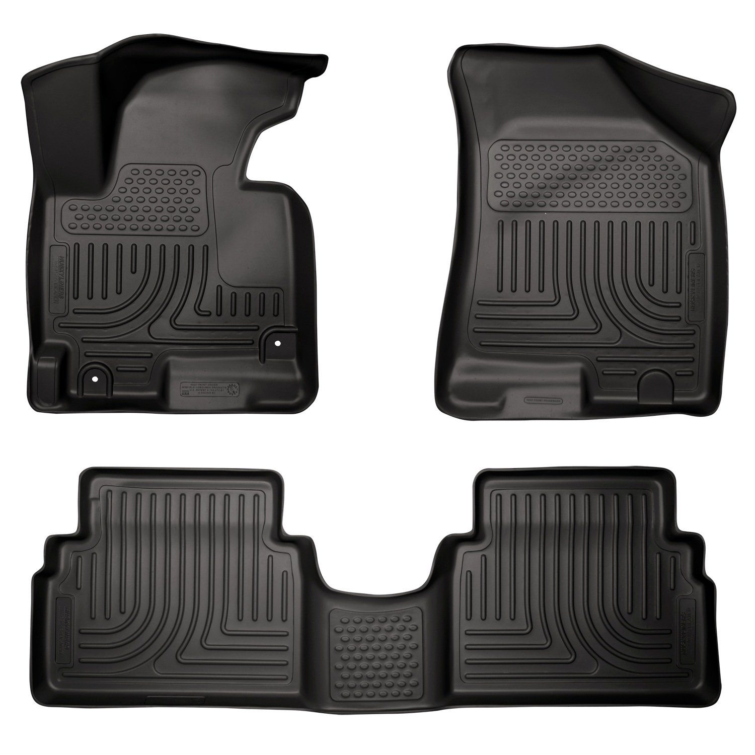 Floor mats kia - Amazon Com Husky Liners Front 2nd Seat Floor Liners Fits 11 13 Sportage Automotive