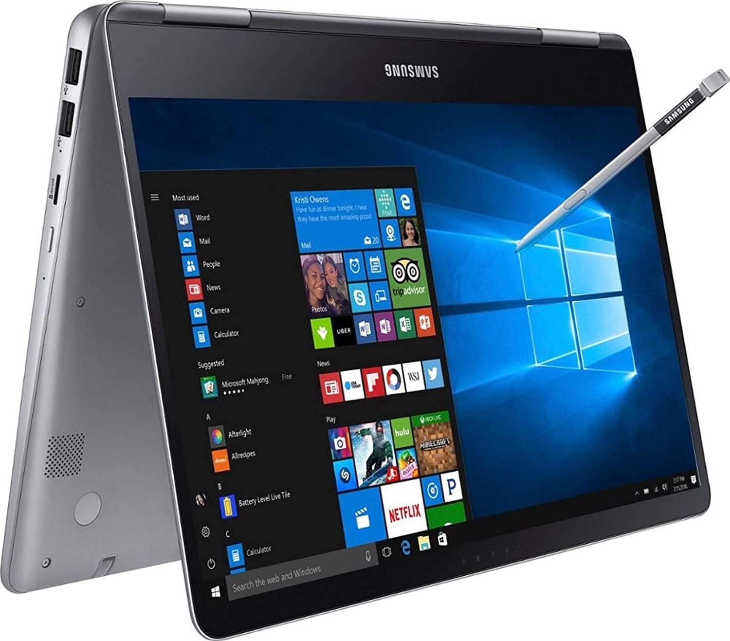 2020 Newest Samsung Notebook 9 Pro 2 in 1 Laptop, 15