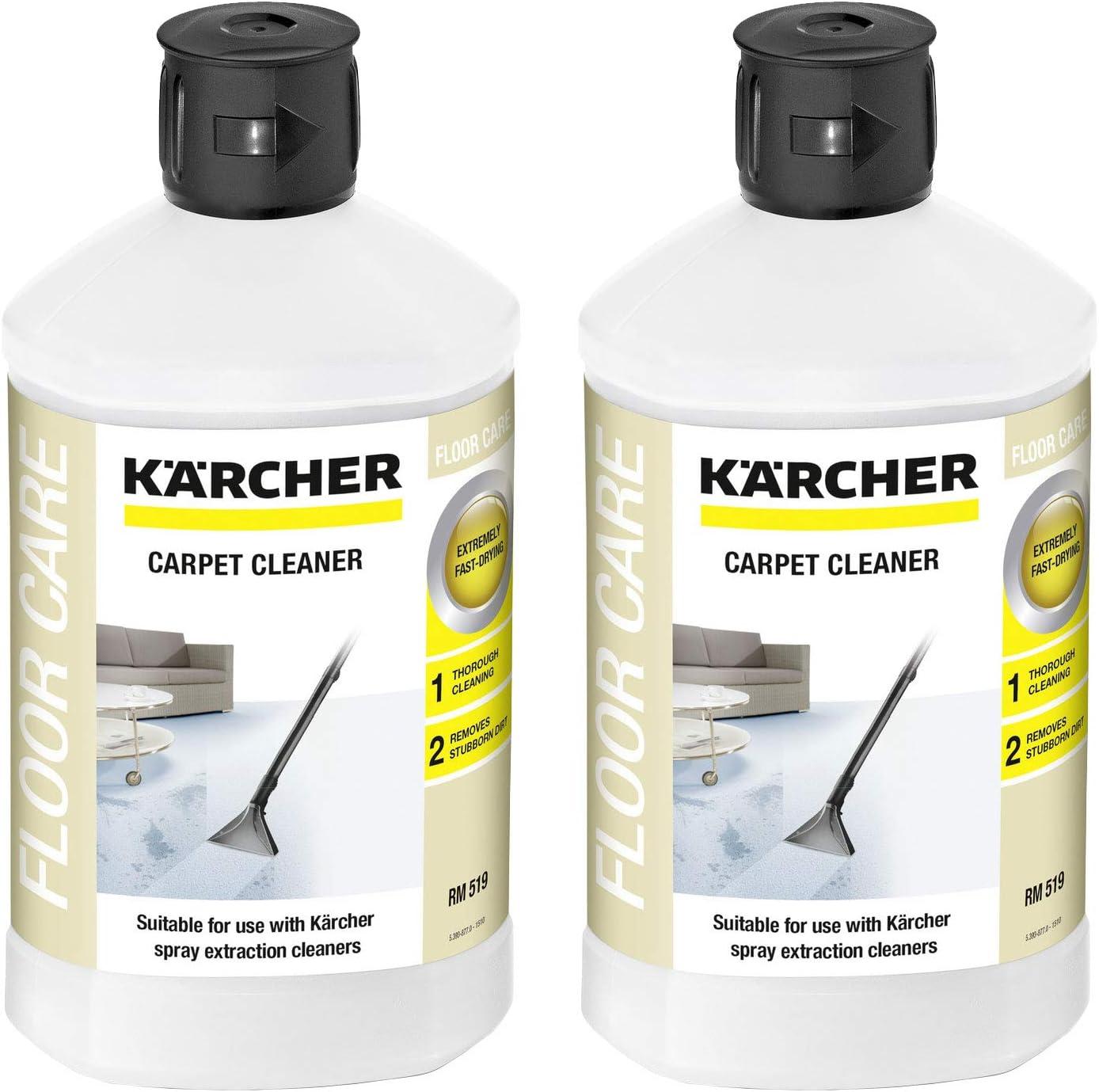 Karcher RM 519 - Limpiador de alfombras (1000 ml, 2 Unidades de ...