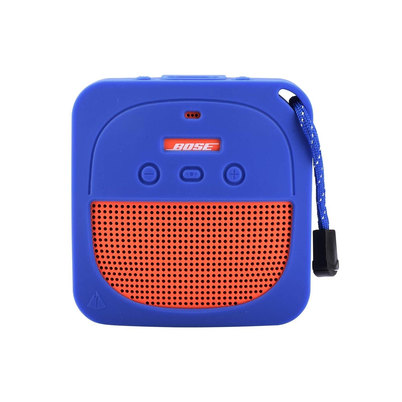 Protective Silicone Case for Bose Soundlink Micro Waterproof Bluetooth Portable Speaker (Dark Gray) TXesign