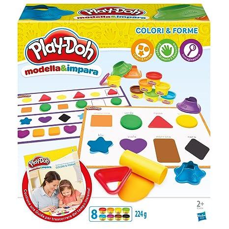 Play Doh Modella E Impara Colori E Forme B3404103 Amazonit
