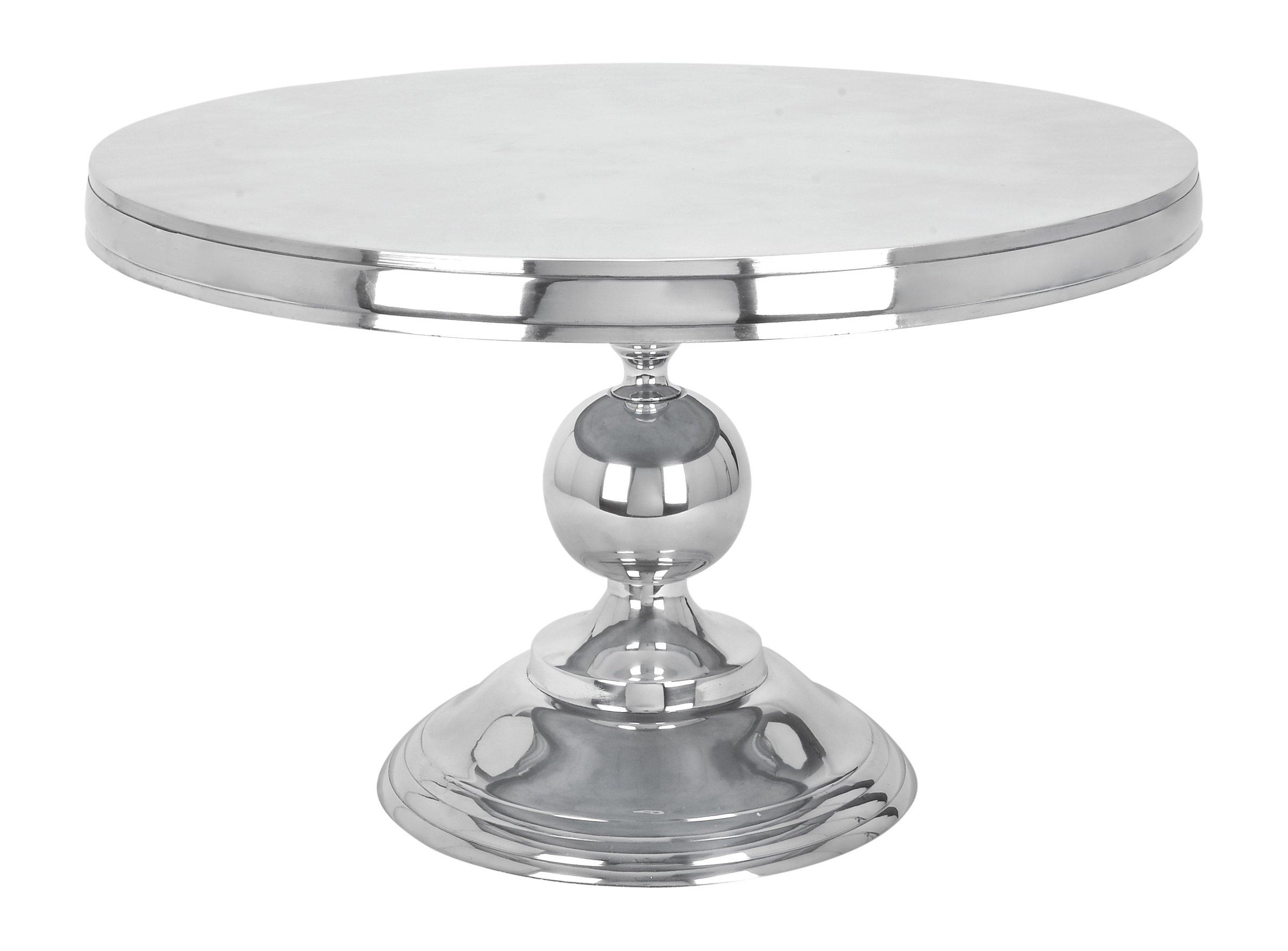 Deco 79 30780 Aluminum Coffee Table, 30'' x 19''