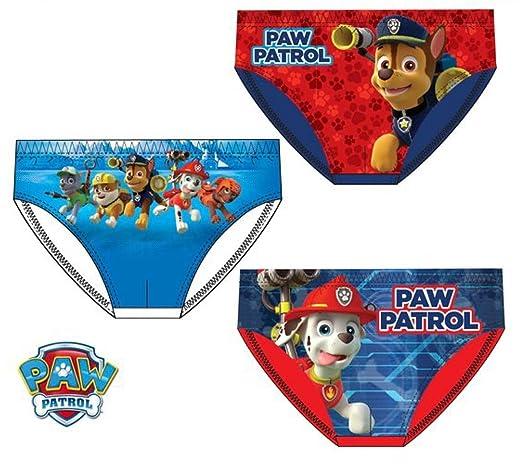 Pack 3 slips patrulla canina 3158 talla 6-8 años: Amazon.es: Ropa y accesorios