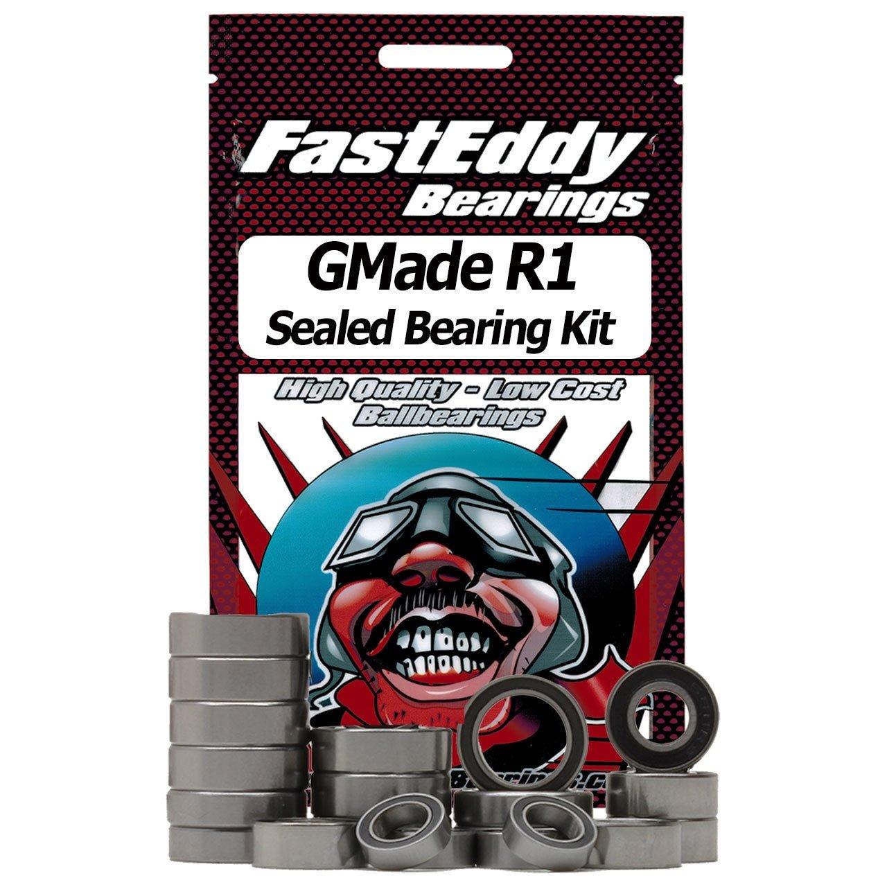 GMade R1 Rubber Sealed Bearing Kit