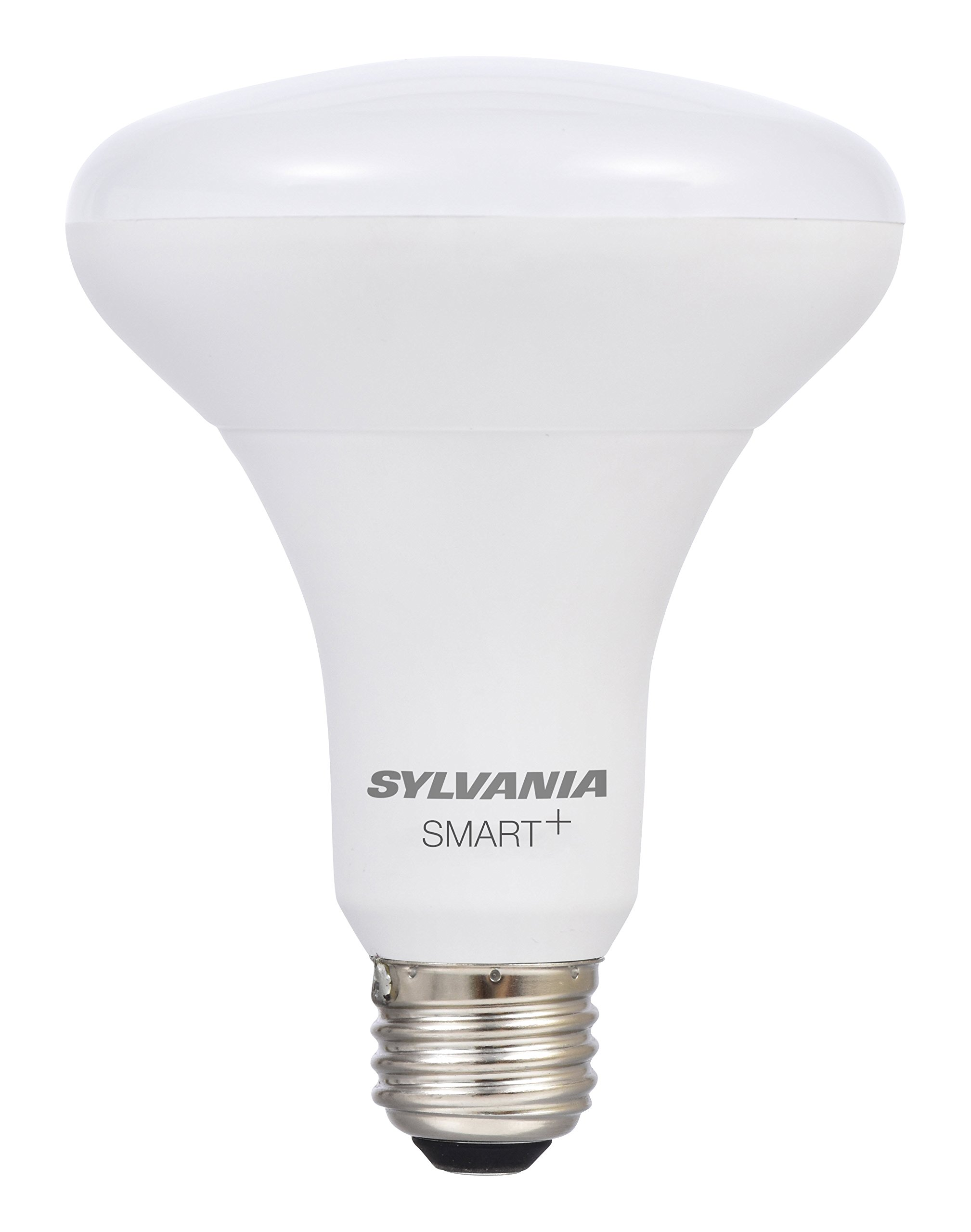 Sylvania Smart Home 74581 Dim LED Light Bulb, BR30 Dimmable White, 60W Equivalent, Works with SmartThings and Alexa, 10 Year Series Soft