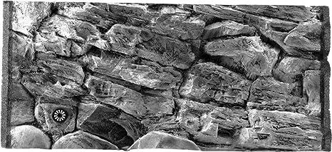 Aqua Maniac 3d fondo de acuario, gris roca, polirresina (no espuma ...