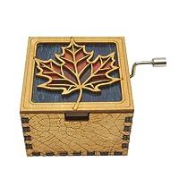 Buy Allamazing Music Box Handmade Engraved Wooden Music Box for Fan Birthday Gift
