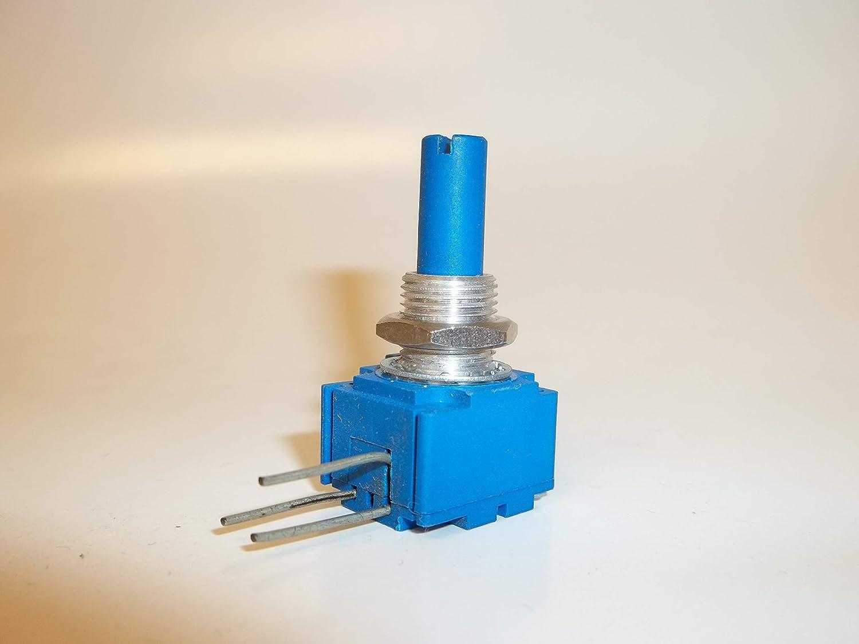 20kOhm linear Stereo 5 Daumenradpotentiometer 14mm