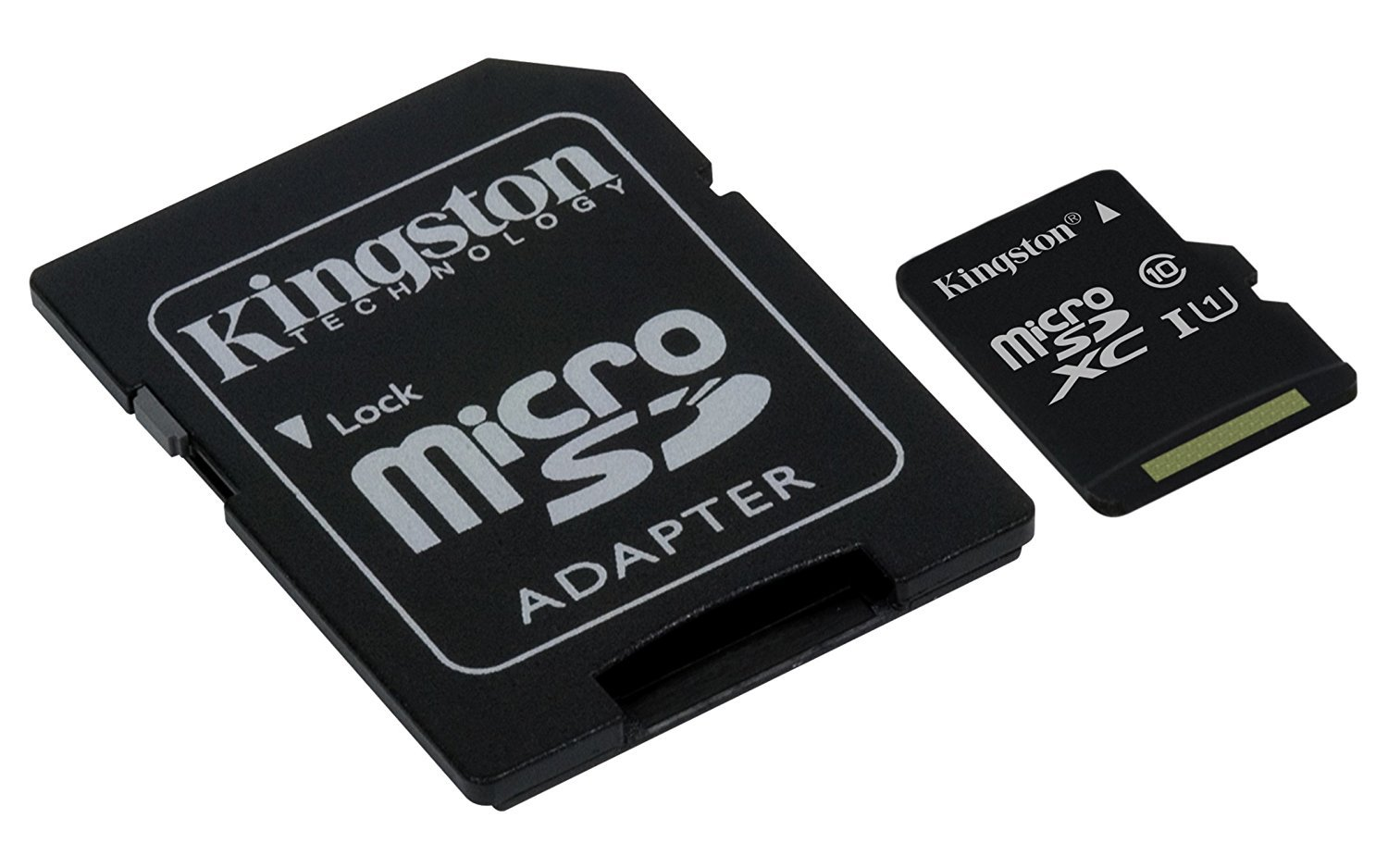 Professional Kingston 256GB TP260 MicroSDXC Card with custom formatting and Standard SD Adapter! (Class 10, UHS-I) by Custom Kingston for LG (Image #1)