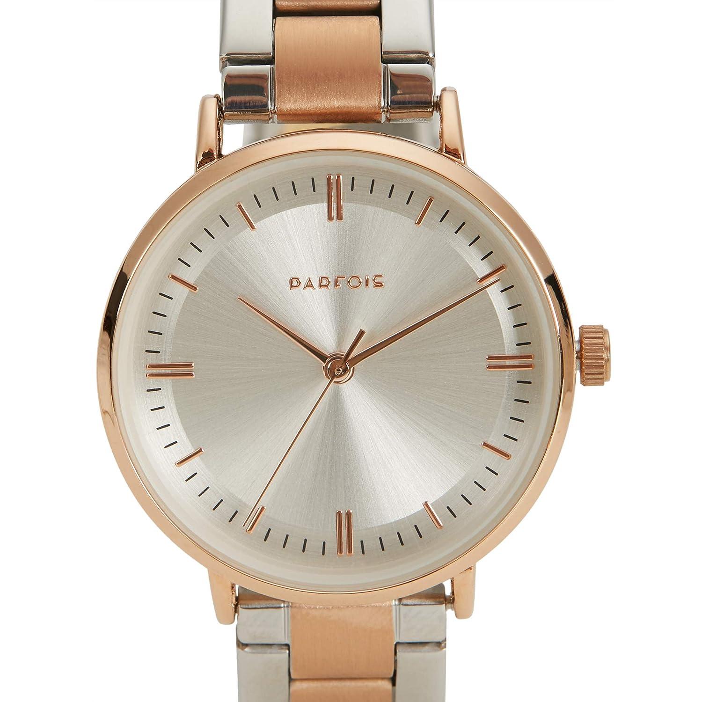 Parfois - Reloj Rose Gold - Mujeres - Tallas Única - Dorado: Amazon.es: Relojes