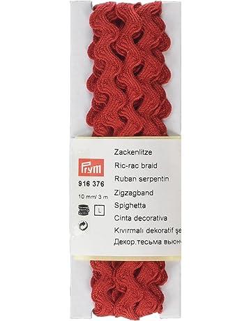 Cintas en zigzag de adorno de costura | Amazon.es