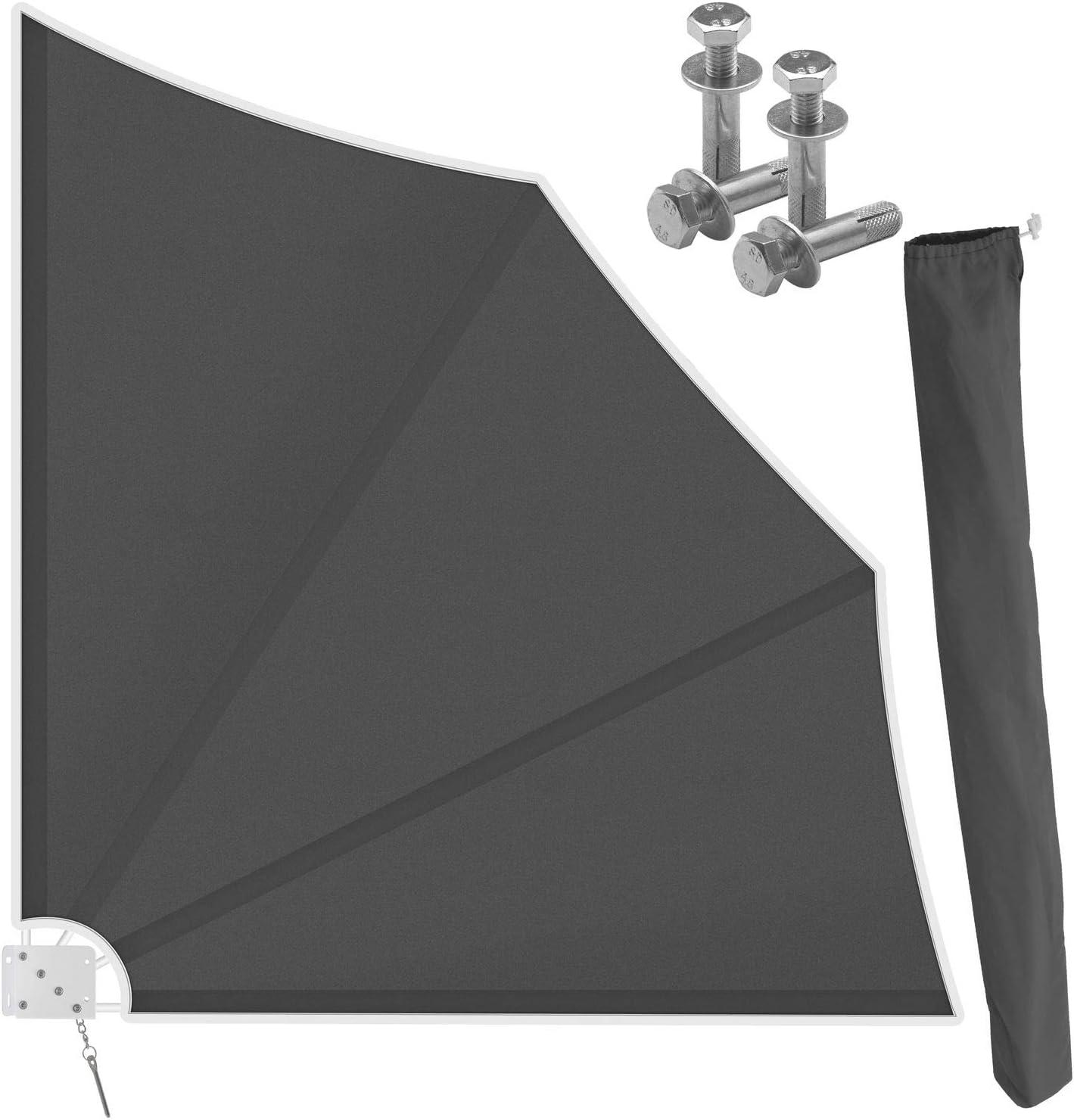 Kesser Folding Balcony Fan With Wall Mount 140 X 140 Cm Privacy