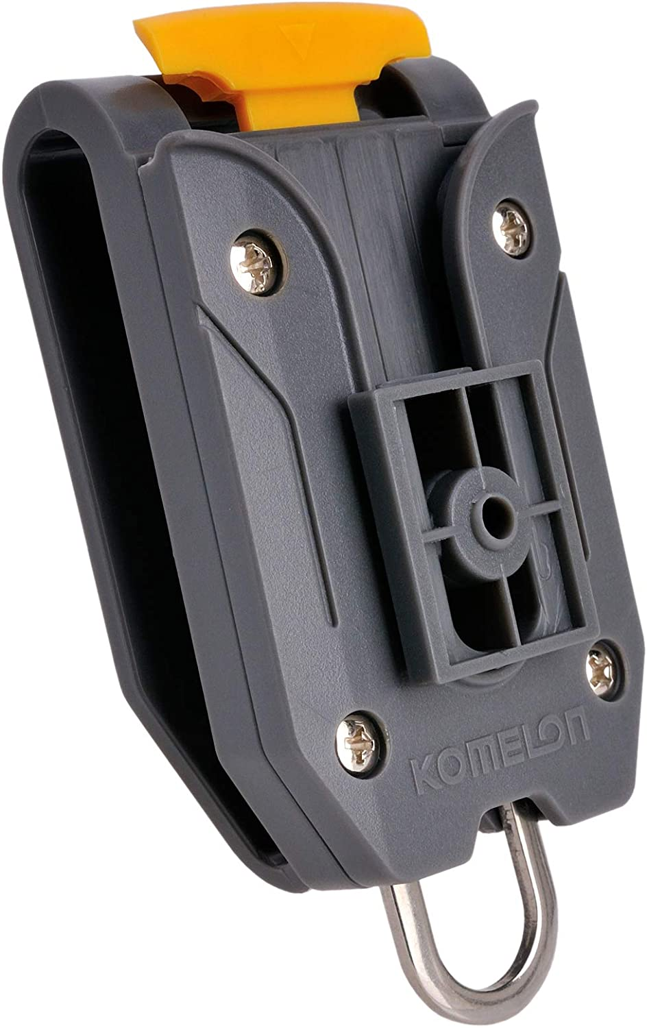 Komelon Belt Clip Holder Quick-Draw Safety Tools for Measuring Measure Tape with English Manual