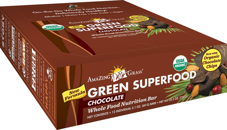 Amazon.com : Amazing Grass Organic Chocolate Green SuperFood Whole ...
