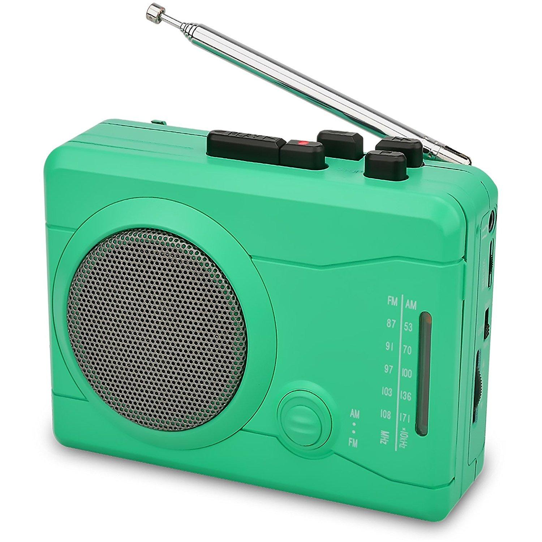 DIGITNOW! Enregistreur Audio Personnel de Joueur de Cassette d'USB avec Le Haut-Parleur, Cassette de Cassette d'enregistrement de Radio au convertisseur numérique de MP3