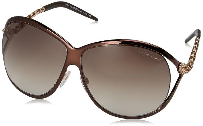 Roberto Cavalli RC854S Gafas de Sol, Dark Brown, 65 para ...