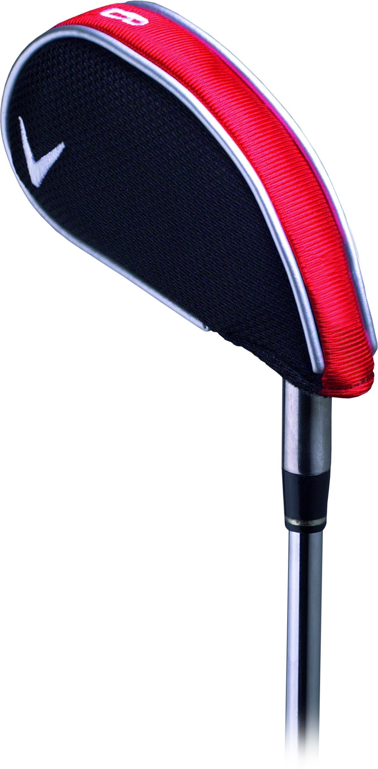 Callaway Golf Iron Headcovers, Standard C10730,Red by Callaway Golf