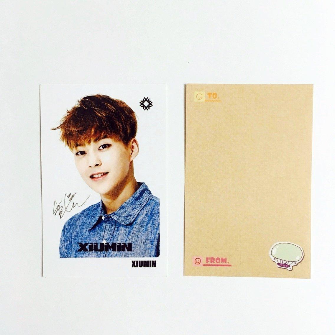EXO XIUMIN Solo Photocards 56pcs