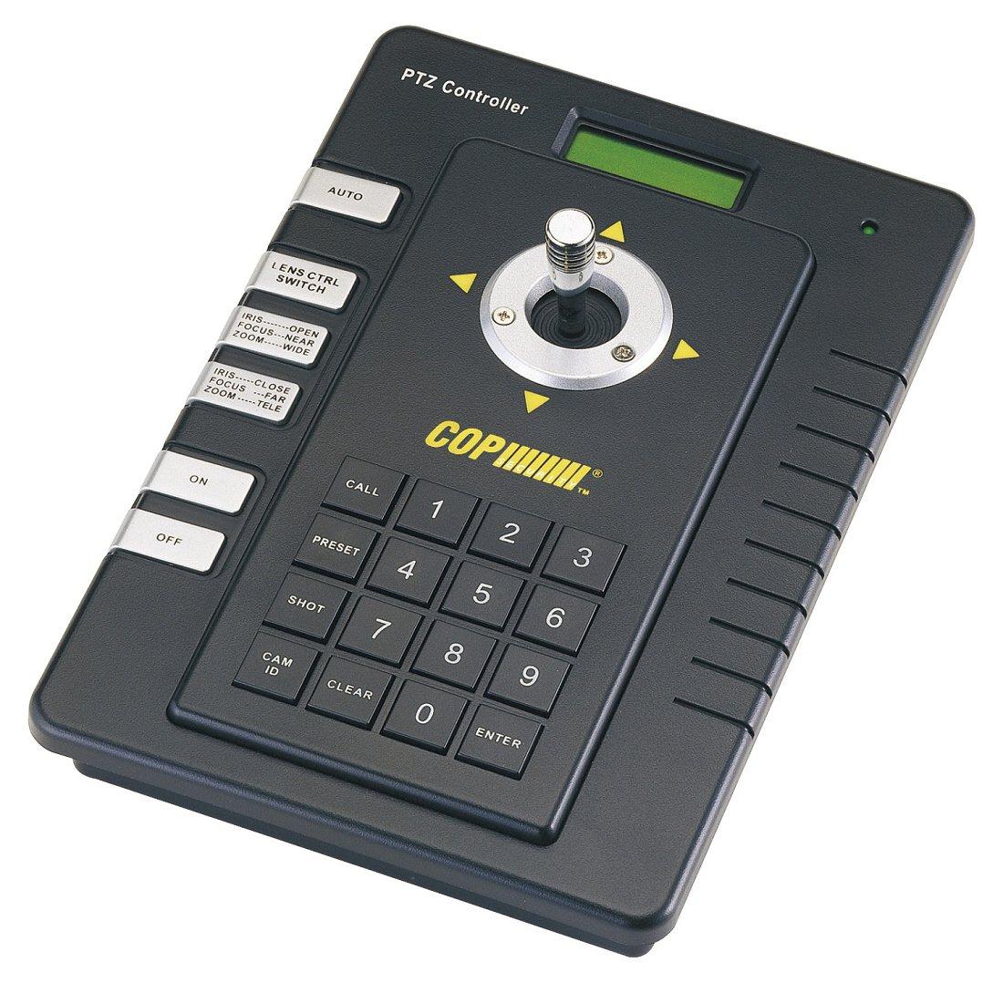 【最安値に挑戦】 Cop Security (Black) Keyboard 15-AU50ES 2-Axis PTZ Joystick Keyboard Joystick Controller (Black) by COP Security B009AFFJCA, 徳島市:00f48539 --- a0267596.xsph.ru