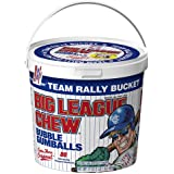Big League Chew - Original Bubble Gum Flavor + 80pcs Individually Wrapped Gumballs + For Games, Concessions, Picnics…