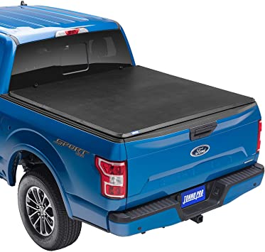 Amazon Com Tonno Pro Tonno Fold Soft Folding Truck Bed Tonneau Cover 42 508 Fits 2014 2021 Toyota Tundra Includes Track Sys Clamp Kit 5 5 Bed 66 7 Automotive