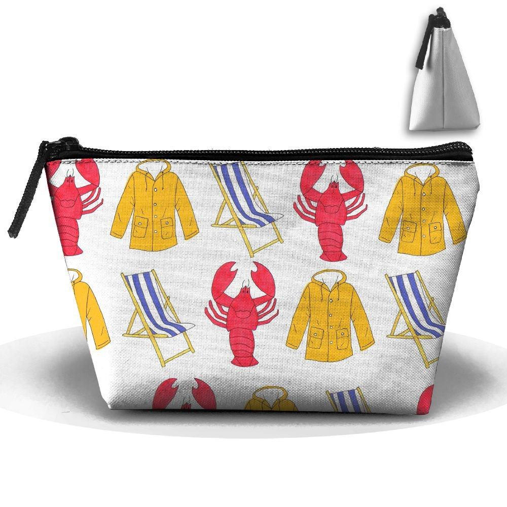 Portable Travel Storage Bags Lobster Beach Chair Coat Pouch Purse Zipper Holder For Medicine And Makeup Bag