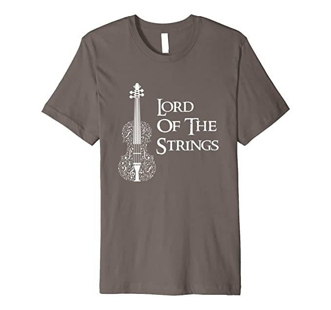 bba3e06166 Amazon.com: Lord Of The Strings Violin Cello Fiddle T-shirt: Clothing