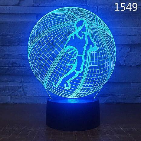 WIDG - Lámpara de escritorio con 7 cambios de color y cable USB ...