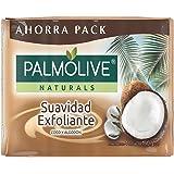 Jabón de Tocador Palmolive Naturals Coco y Algodón en Barra, 150 g, 4 Piezas