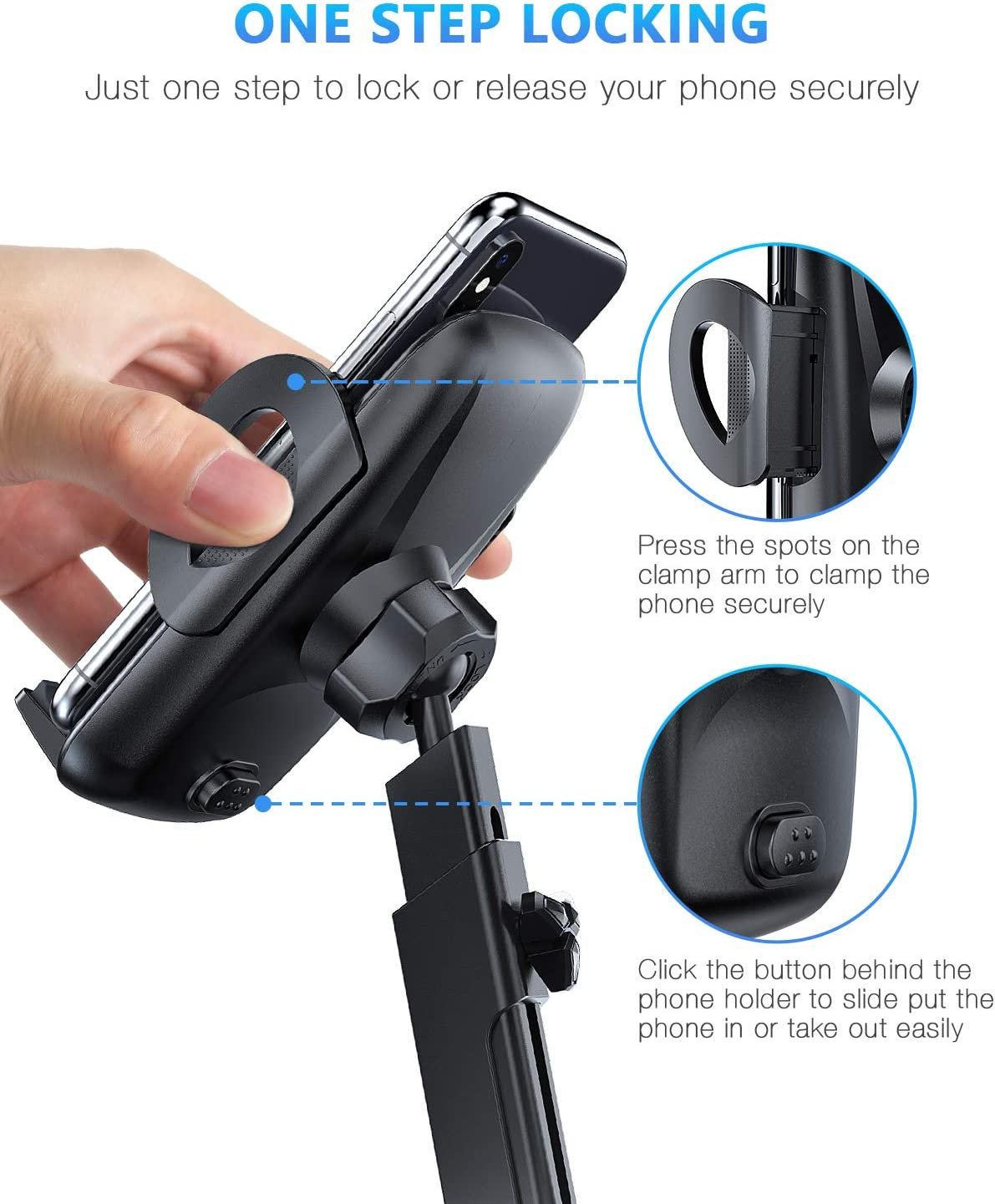 Samsung Galaxy S10 Plus/S10e/S9/S20 and More Car Phone Holder ...