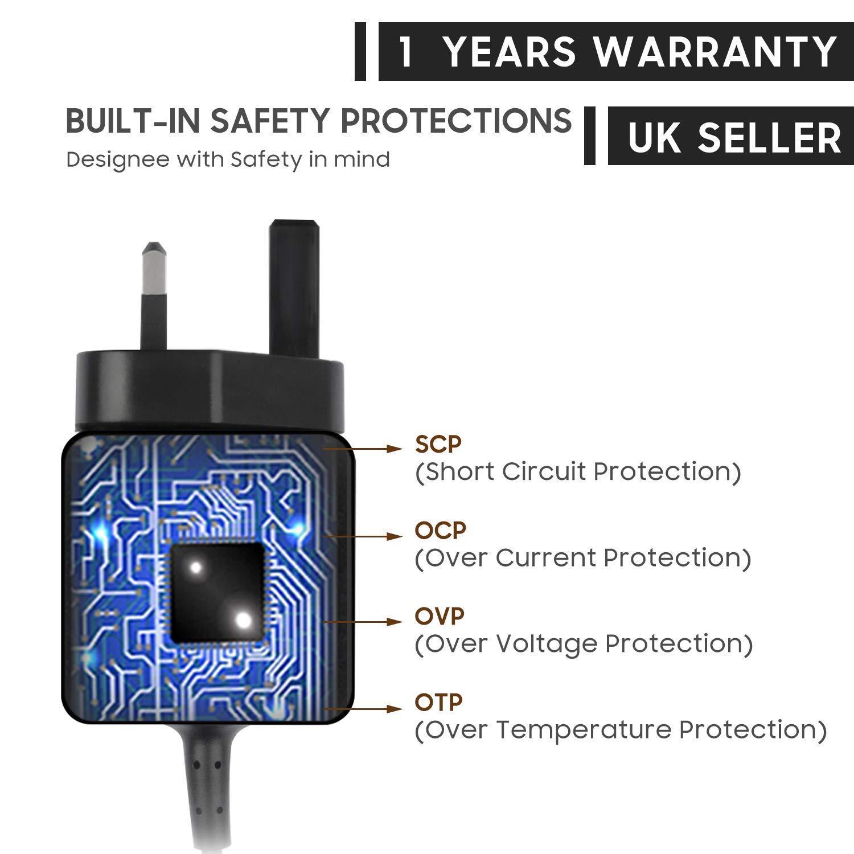 KFD - Cable de Carga para afeitadora eléctrica Braun Series 3 5 7 ...