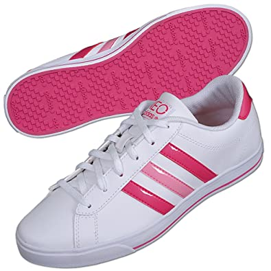 Adidas Damen Sneaker SE DAILY QT Neo weiß-pink-rosa: Amazon ...