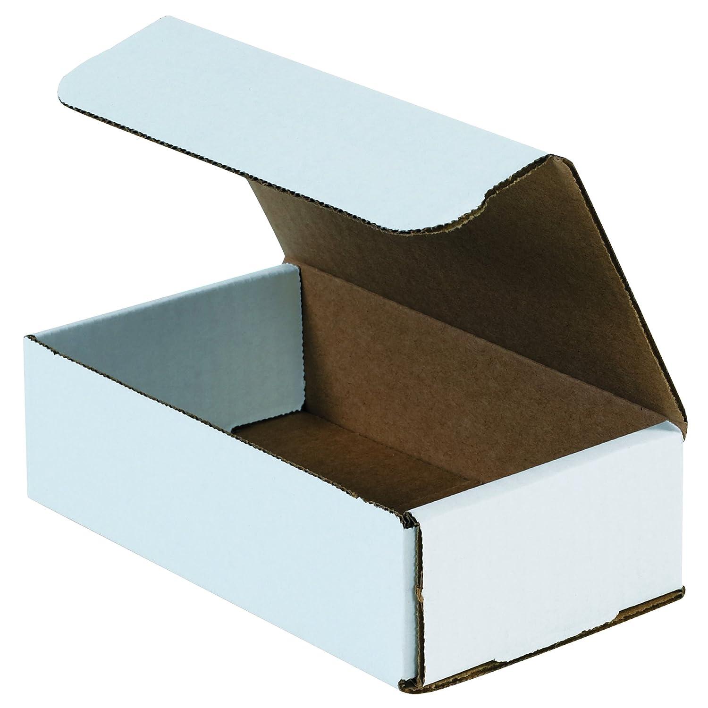 "Aviditi Crush Proof Corrugated Mailer, 9"" X 5"" X 3"", Oyster White, Bundle of 50 (M953)"