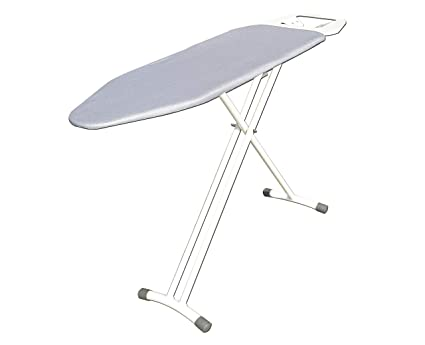 08caf3b0125 Athena Creations Premium Metal Ironing Board Foldable with Grilled Iron  Holder and Damp Proof Coated Cover
