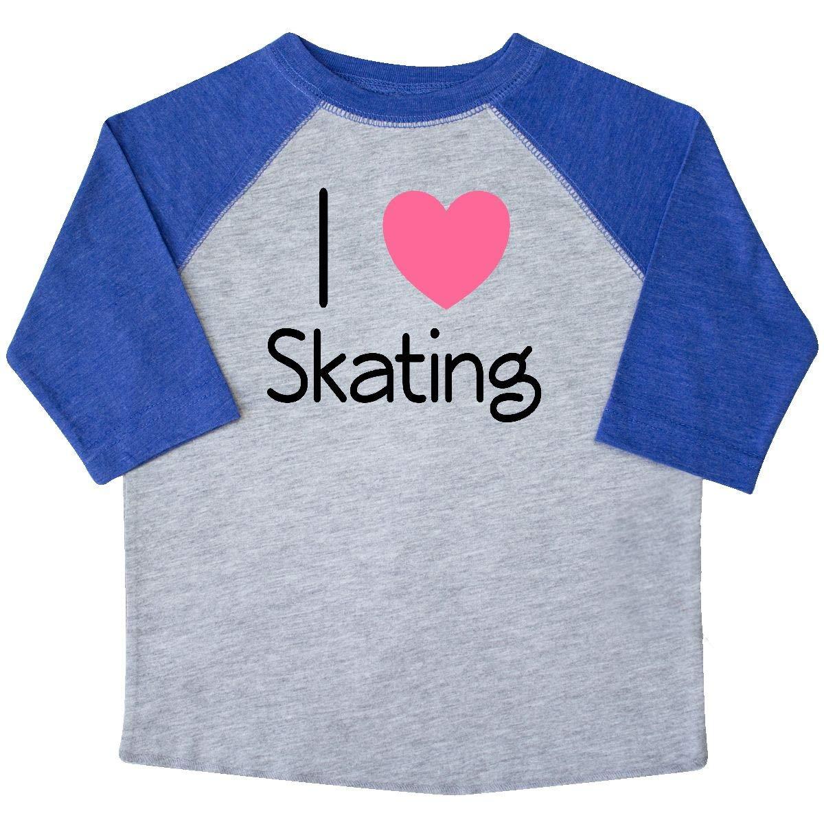inktastic Roller Skate I Love Skating Toddler T-Shirt