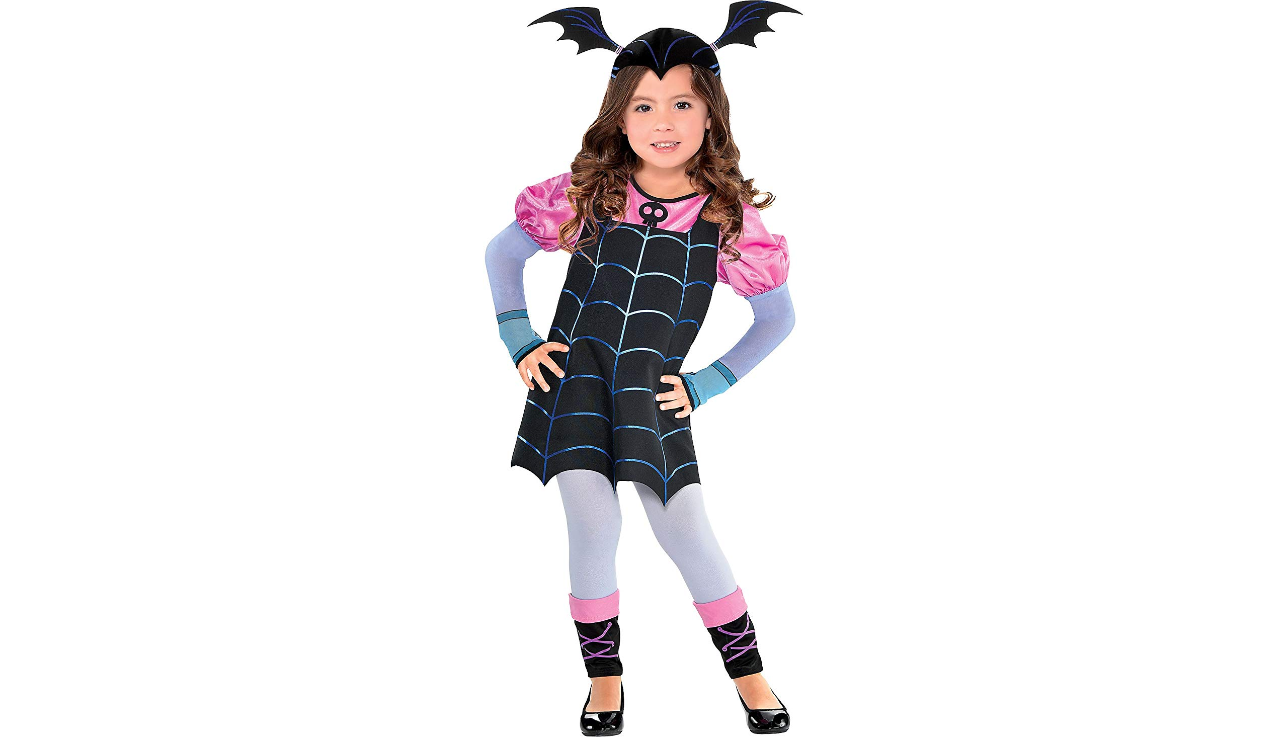 Vampirina Vee Halloween Costume for Girls, Small, with Included Accessories, by Party City