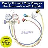 LU-HAWK R134A Automotive Quick Coupler
